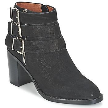 Čevlji  Ženske Gležnjarji Jeffrey Campbell RAYBURN Črna