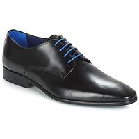 Čevlji  Moški Čevlji Derby Azzaro JORY Črna