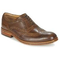 Čevlji  Moški Čevlji Derby Hudson KEATING CALF Rjava