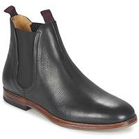 Čevlji  Moški Polškornji Hudson TAMPER CALF Črna