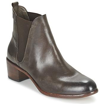 Čevlji  Ženske Gležnjarji Hudson COMPUND CALF Kostanjeva