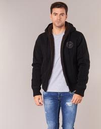 Oblačila Moški Puloverji Schott DUNLIN Črna