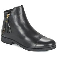 Čevlji  Deklice Polškornji Geox AGATE Črna