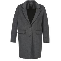 Oblačila Ženske Plašči Eleven Paris TABLEAUBIS Siva / Črna