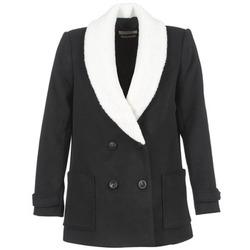 Oblačila Ženske Plašči Teddy Smith MARTA Črna