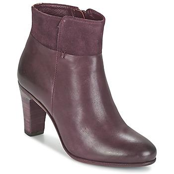 Čevlji  Ženske Gležnjarji Fred de la Bretoniere NAVAJO Bordo