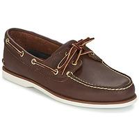 Čevlji  Moški Mokasini & Jadralni čevlji Timberland CLASSIC 2 EYE Kostanjeva