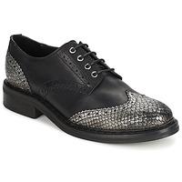 Čevlji  Ženske Čevlji Derby Koah LESTER Črna / Silver