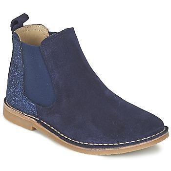 Čevlji  Deklice Polškornji Citrouille et Compagnie FIGOULI Modra