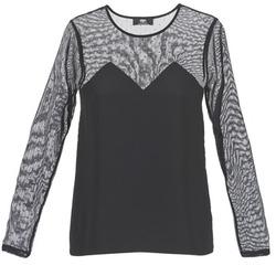 Oblačila Ženske Majice s kratkimi rokavi Le Temps des Cerises ALANNAH Črna