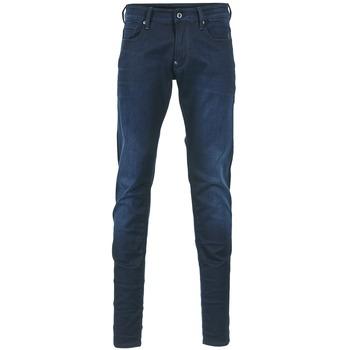 Oblačila Moški Jeans skinny G-Star Raw REVEND SUPER SLIM Indigo modra