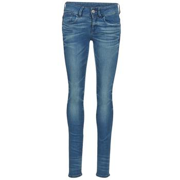 Oblačila Ženske Jeans skinny G-Star Raw LYNN MID SKINNY Modra