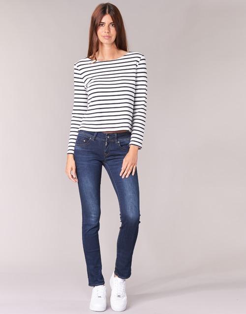 Oblačila Ženske Jeans straight G-Star Raw MIDGE SADDLE MID STRAIGHT Denim