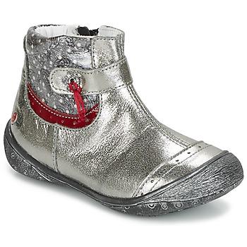 Čevlji  Deklice Polškornji GBB NYMPHE Szary
