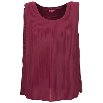 Oblačila Ženske Majice brez rokavov Bensimon REINE Plum