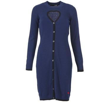 Oblačila Ženske Kratke obleke Love Moschino PESCARI Modra