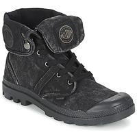 Čevlji  Polškornji Palladium US BAGGY Črna