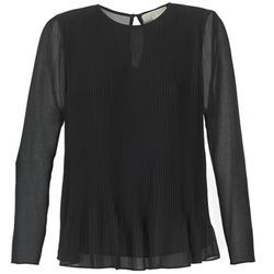 Oblačila Ženske Topi & Bluze MICHAEL Michael Kors SOSEN Črna