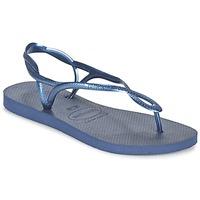 Čevlji  Ženske Japonke Havaianas LUNA Modra