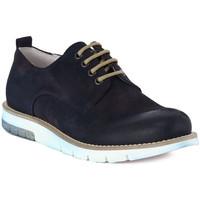 Čevlji  Moški Čevlji Derby Pawelk's PAWELKS CAMOSCIO EXEL Blu