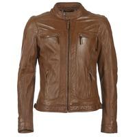 Oblačila Moški Usnjene jakne & Sintetične jakne Oakwood 60901 Cognac