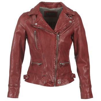 Oblačila Ženske Usnjene jakne & Sintetične jakne Oakwood VIDEO Rdeča