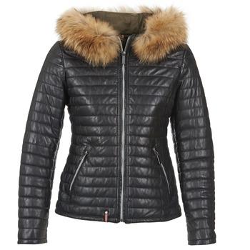 Oblačila Ženske Puhovke Oakwood 61677 Črna