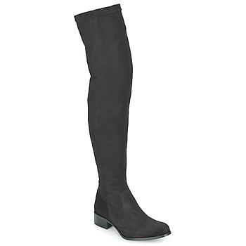 Čevlji  Ženske Visoki škornji Betty London FOUGUILLE Črna
