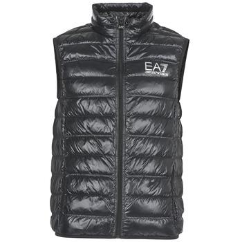 Oblačila Moški Puhovke Emporio Armani EA7 ONAFRATO Črna