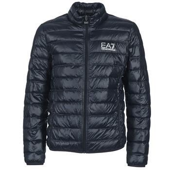 Oblačila Moški Puhovke Emporio Armani EA7 JAFOUKARO Modra
