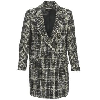 Oblačila Ženske Plašči Naf Naf ADOUCE Siva