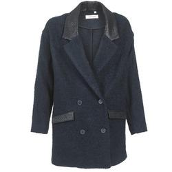 Oblačila Ženske Plašči Naf Naf ADELAIDE Modra