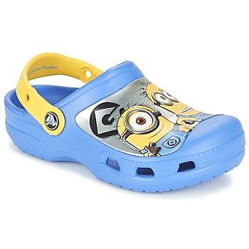 Čevlji  Otroci Cokli Crocs CC Minions Clog Modra / Rumena