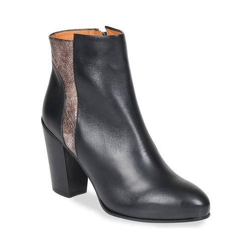 Čevlji  Ženske Gležnjarji Emma Go BOWIE Črna