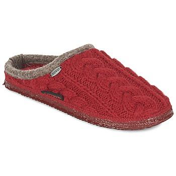 Čevlji  Ženske Nogavice Giesswein NEUDAU Rdeča