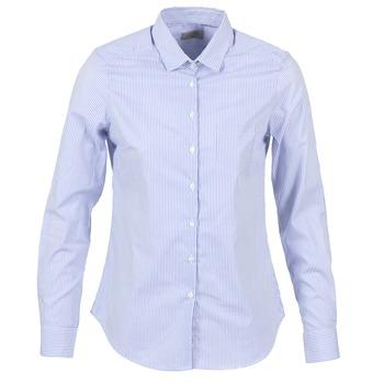 Oblačila Ženske Srajce & Bluze Casual Attitude FANFAN Bela / Modra