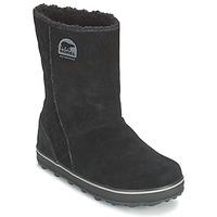 Čevlji  Ženske Škornji za sneg Sorel GLACY Črna