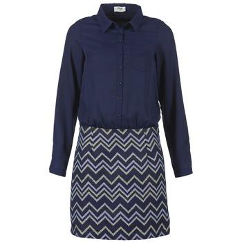 Oblačila Ženske Kratke obleke Betty London FERMINE Modra
