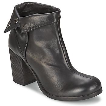 Čevlji  Ženske Gležnjarji JFK GUANTO Črna