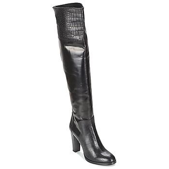 Čevlji  Ženske Mestni škornji    Alberto Gozzi GRINGO NERO Črna