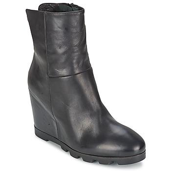 Čevlji  Ženske Gležnjarji OXS IGLOO Črna