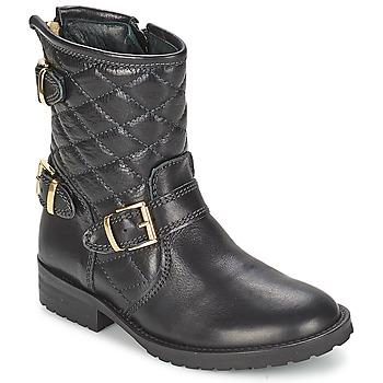 Čevlji  Deklice Polškornji Hip RAVUTE Črna