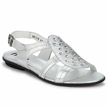 Čevlji  Ženske Sandali & Odprti čevlji Fidji BARRETA Silver