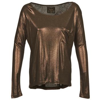 Oblačila Ženske Majice z dolgimi rokavi Chipie NINON Zlata