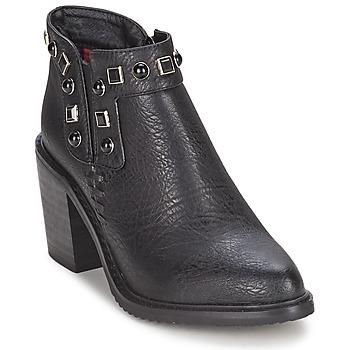 Čevlji  Ženske Nizki škornji Gioseppo MOSENA Črna