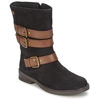 Čevlji  Deklice Mestni škornji    Gioseppo HALIFAX Črna
