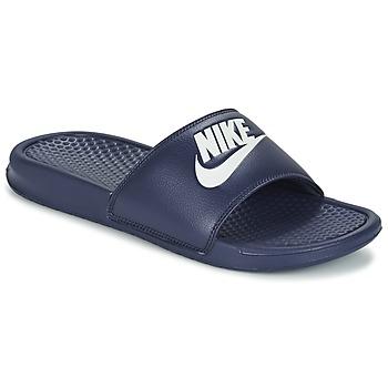 Čevlji  Moški Natikači Nike BENASSI JDI Modra / Bela