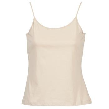 Oblačila Ženske Majice brez rokavov BOTD FAGALOTTE Bež