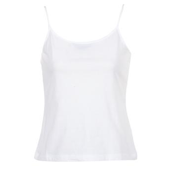 Oblačila Ženske Majice brez rokavov BOTD FAGALOTTE Bela