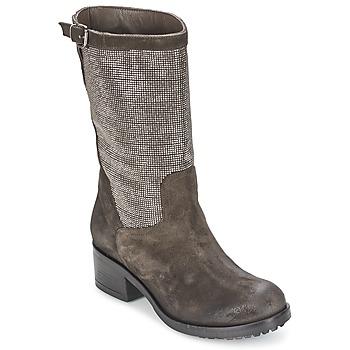 Čevlji  Ženske Mestni škornji    Now DOUREL Siva